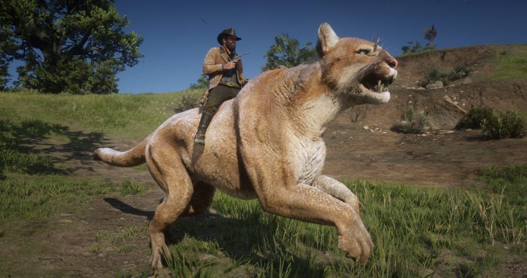 Red Dead Redemption 2 Mod Adds Giant Cougar (That You Can ...