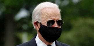 Wearing A Mask, Biden Resumes His Campaign In The Divided United States